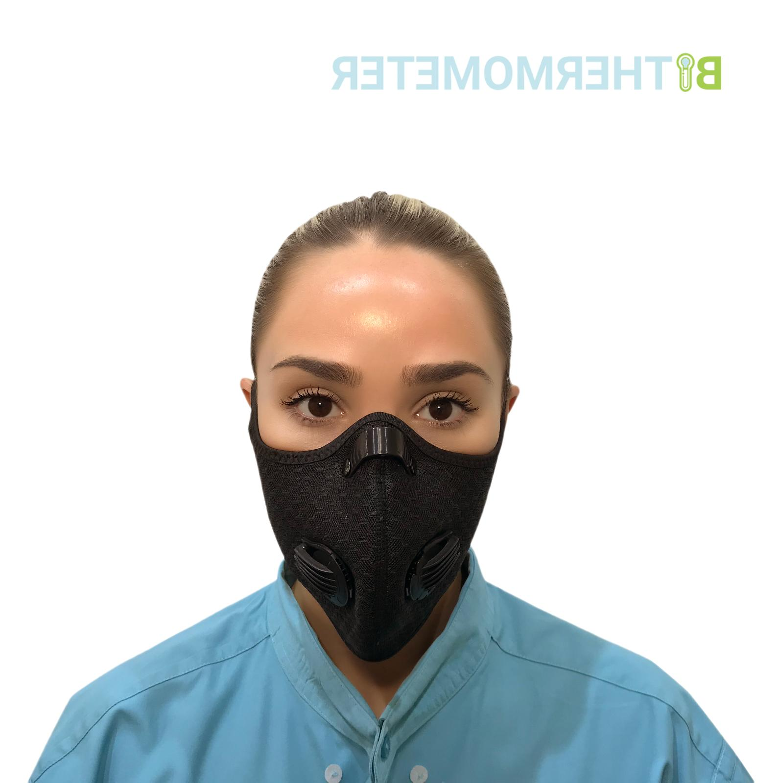 Reusable Mask +1 Activated + Black