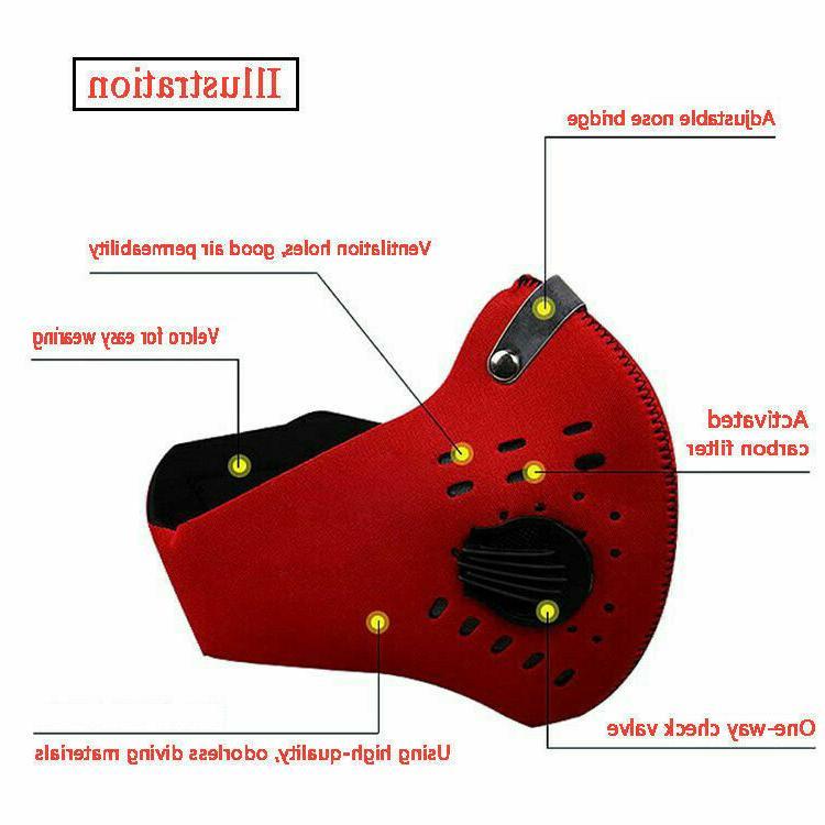 Reusable Dual Breathing Valve Mask