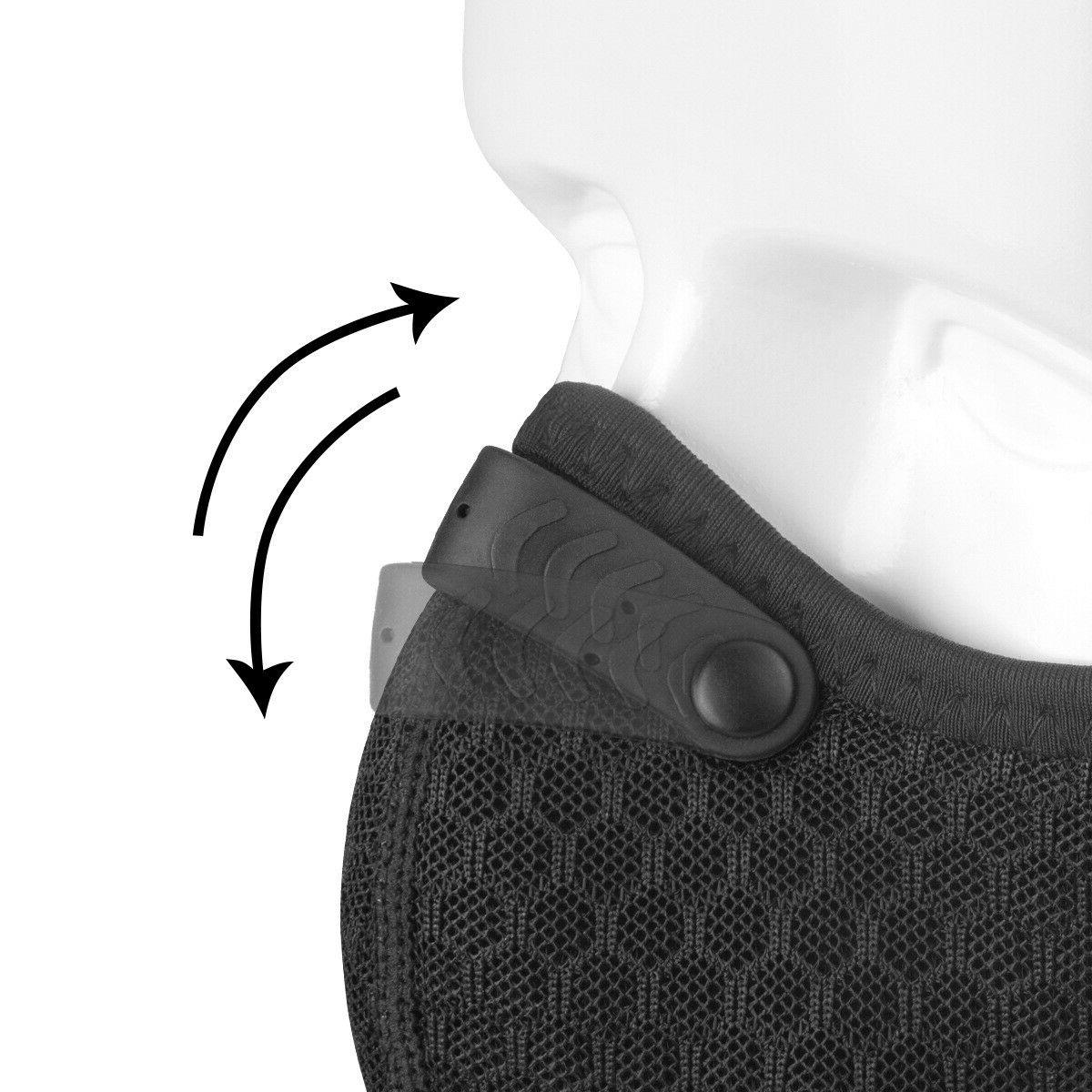 Mesh Mask with Filter Dual Valves
