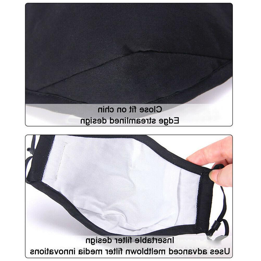Reusable Filter Mouth Pocket, Washable, unisex, USA