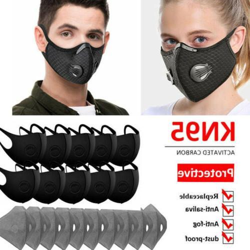 reusable face mouth maske w valve