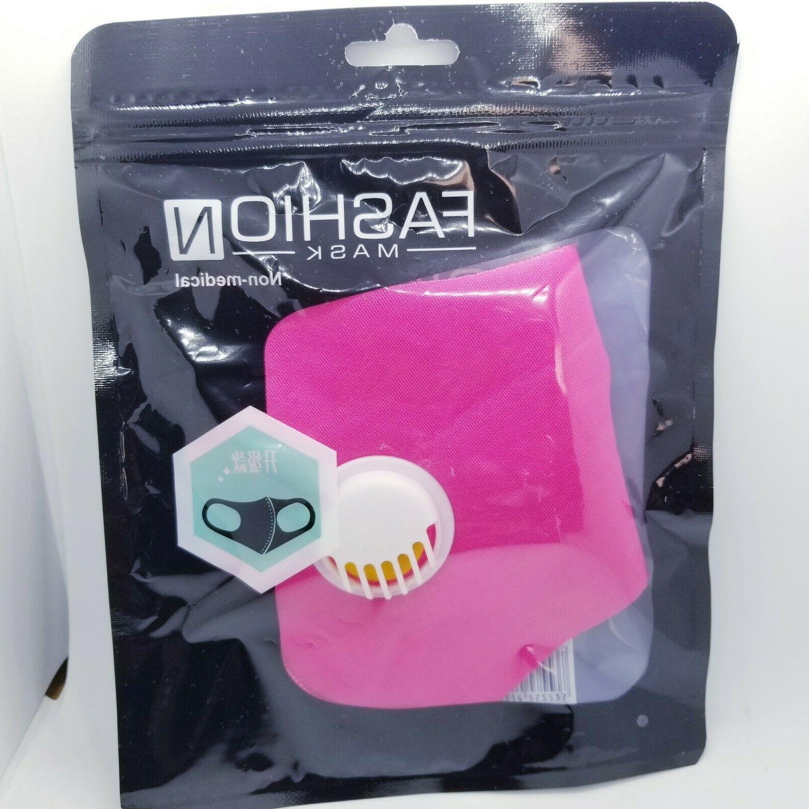 Reusable Face Filter Valve Non-Medical Mask