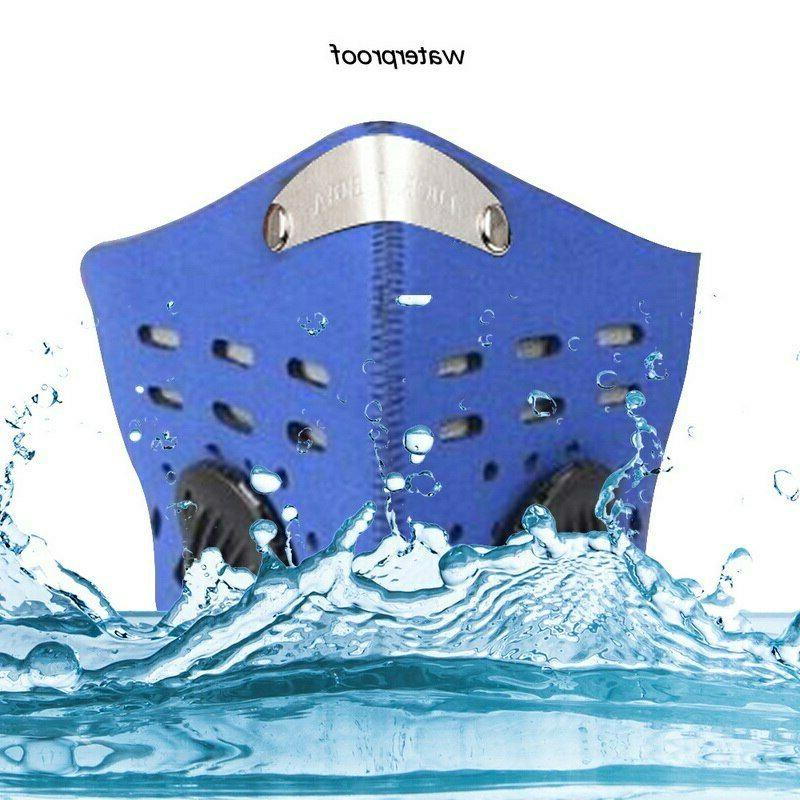 Reusable Neoprene Face with Dual Breathing Valve Filter