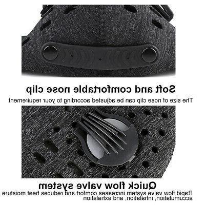 Reusable Outdoor Sports Anti Dust PM2.5 Mask Valve