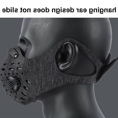 Reusable Dust PM2.5 Filter Mask Valve