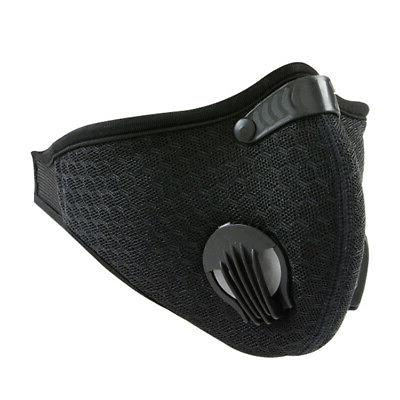 reusable outdoor sports cycling face mask dust
