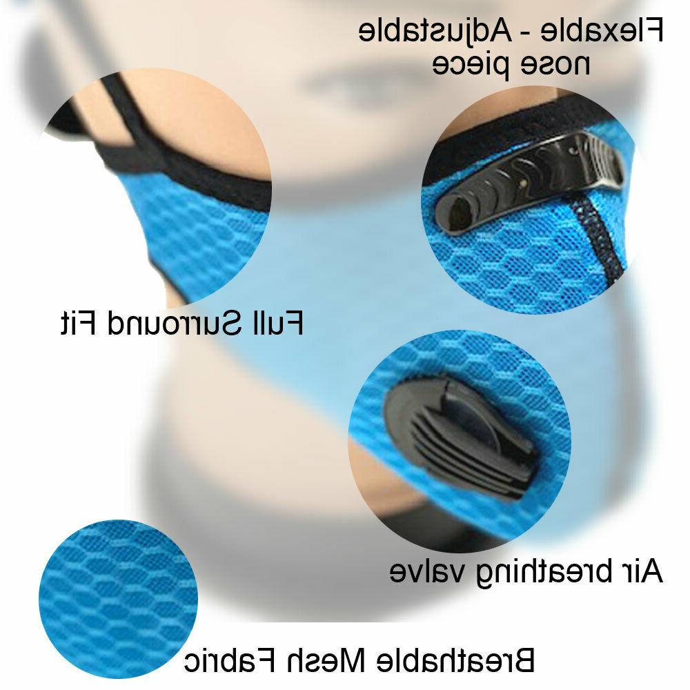 Reusable Breathing Valves Replaceable Cycling Running