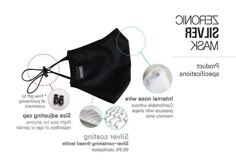 ZERONIC SILVER MASK FROM IN