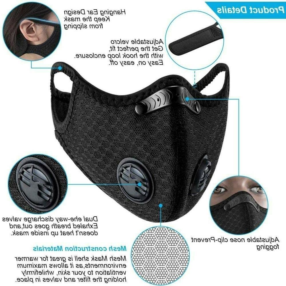 6XReuseable valves mask