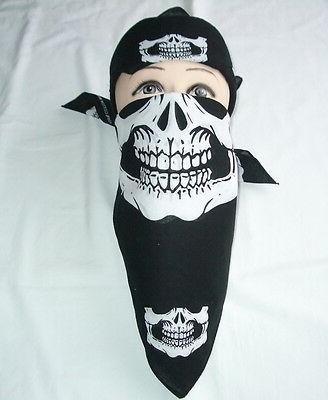 Skull Mask Bandana Motorcycle Face Snowboard Ski Masks Balaclava