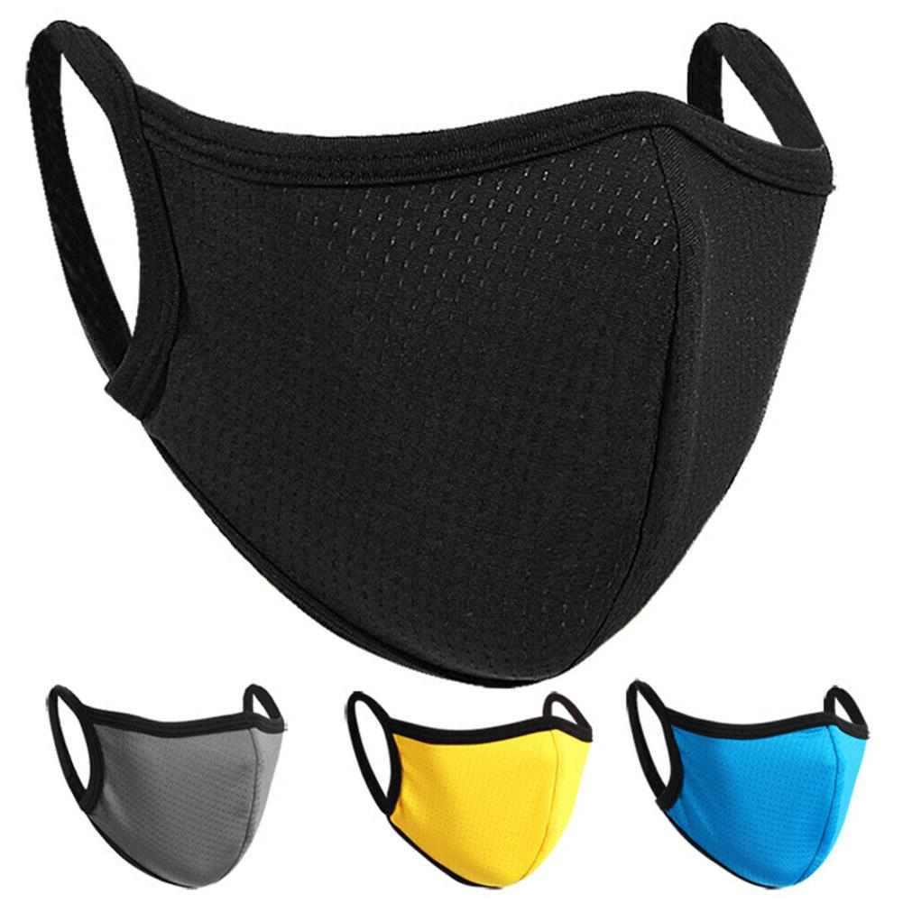 soft face mask double layer breathable reusable