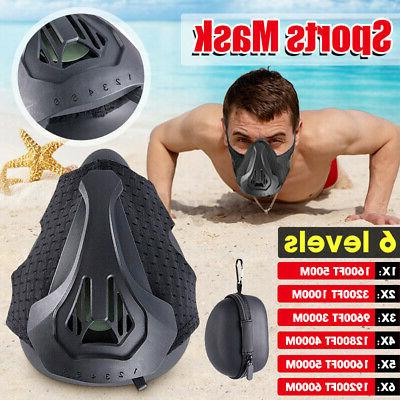 sport face mask for breathing high altitude