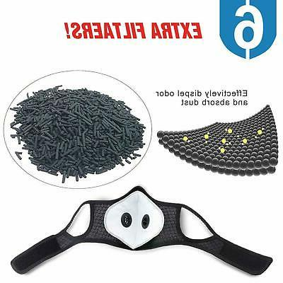Mesh Face Outdoor Carbon Anti Mask