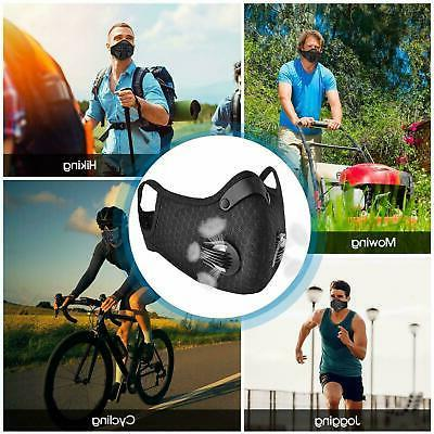 Mesh Sports Mask Outdoor Carbon PM.2 Mask