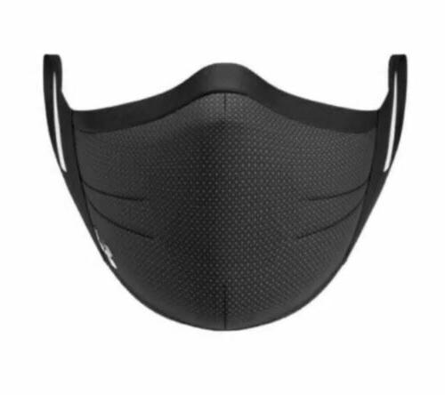 Under Armour Sports Face Mask Size Small/Medium Black Charcoal