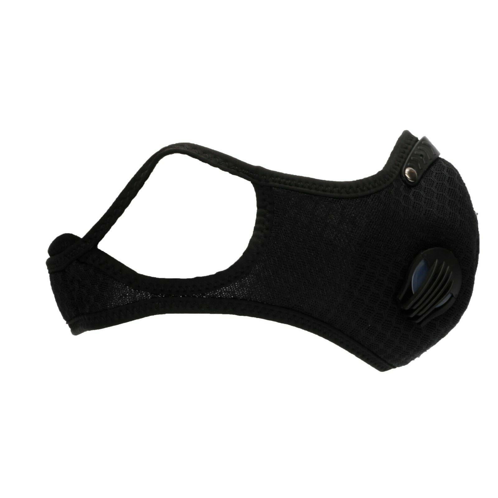 Sports Mask With 5 Activated Carbon Pollution Cycling