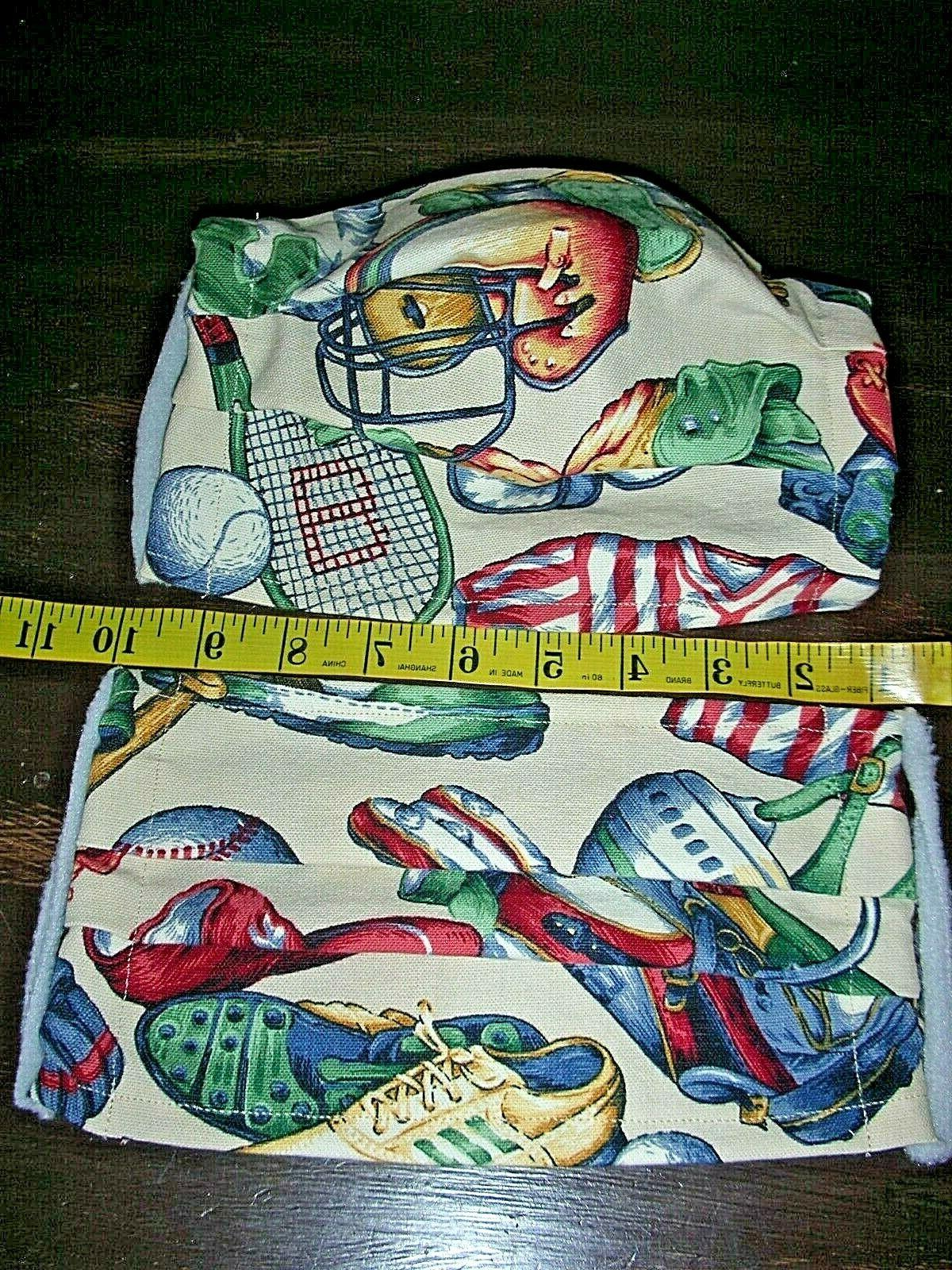 sports l xxl hand made washable cotton