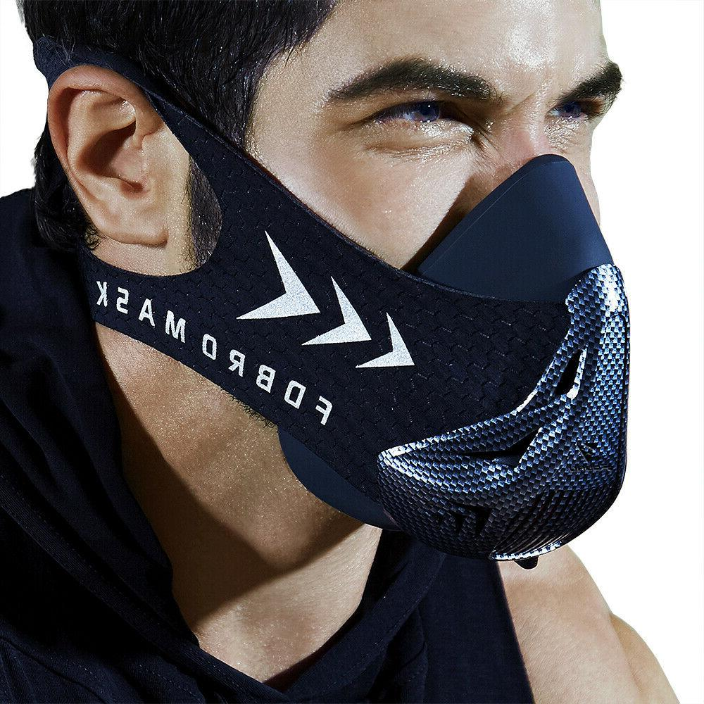 sports running mask gym workout high altitude