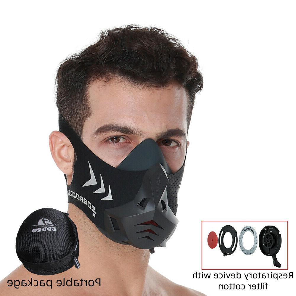 FDBRO Workout Training Running Cycling Masks Oxygen Resistance