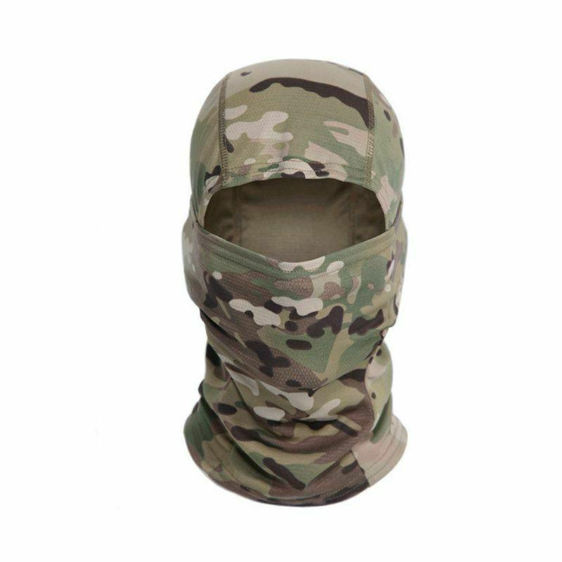 Tactical Camouflage Balaclava Full Face Cycling