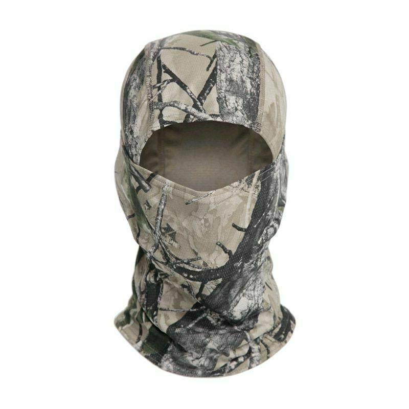 Tactical Camouflage Full Face Mask Cycling
