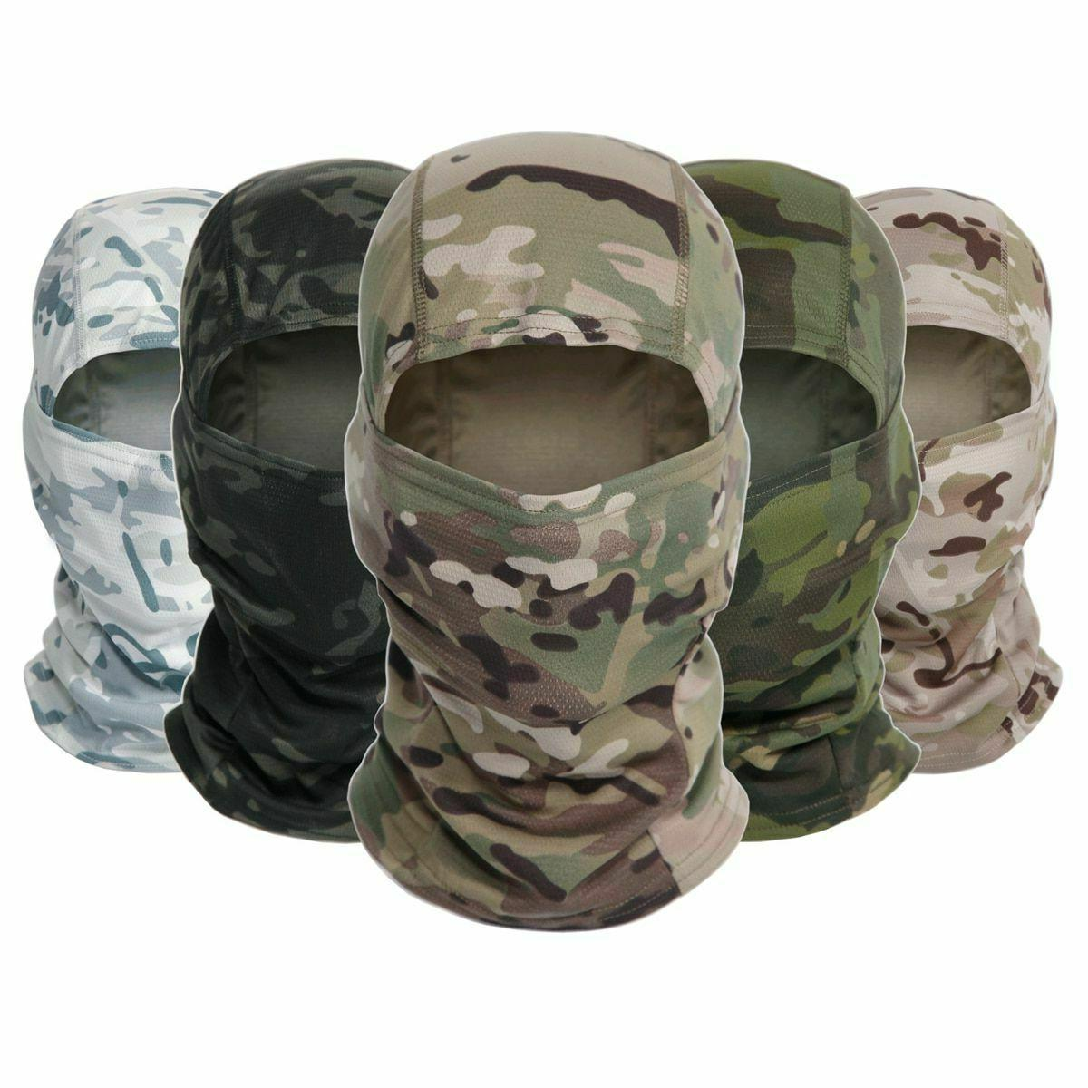 tactical camouflage balaclava full face mask army