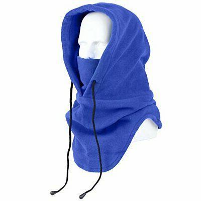 tactical heavyweight balaclava outdoor sports mask blue