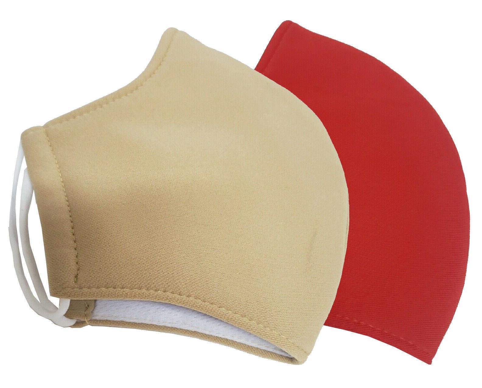 Triple Sets-Cloth Face Polyester/Cotton Reusable Unisex