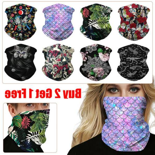 Unisex Protection Mask Face Cover Neck Gaitor