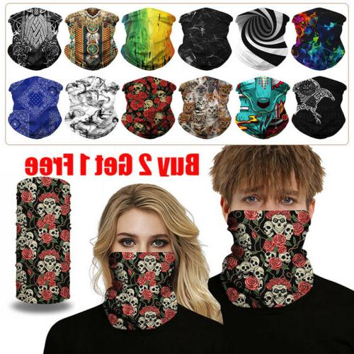 Unisex Mask Neck Gaitor Outdoor Sports
