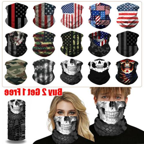 Unisex UV Tube Mask Face Neck Gaitor Outdoor