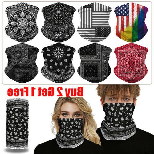 Unisex UV Protection Mask Washable Cover Neck Gaitor Outdoor