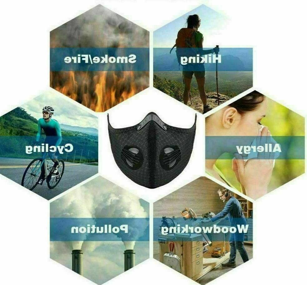 USA Purifying Mask Cycling Reusable
