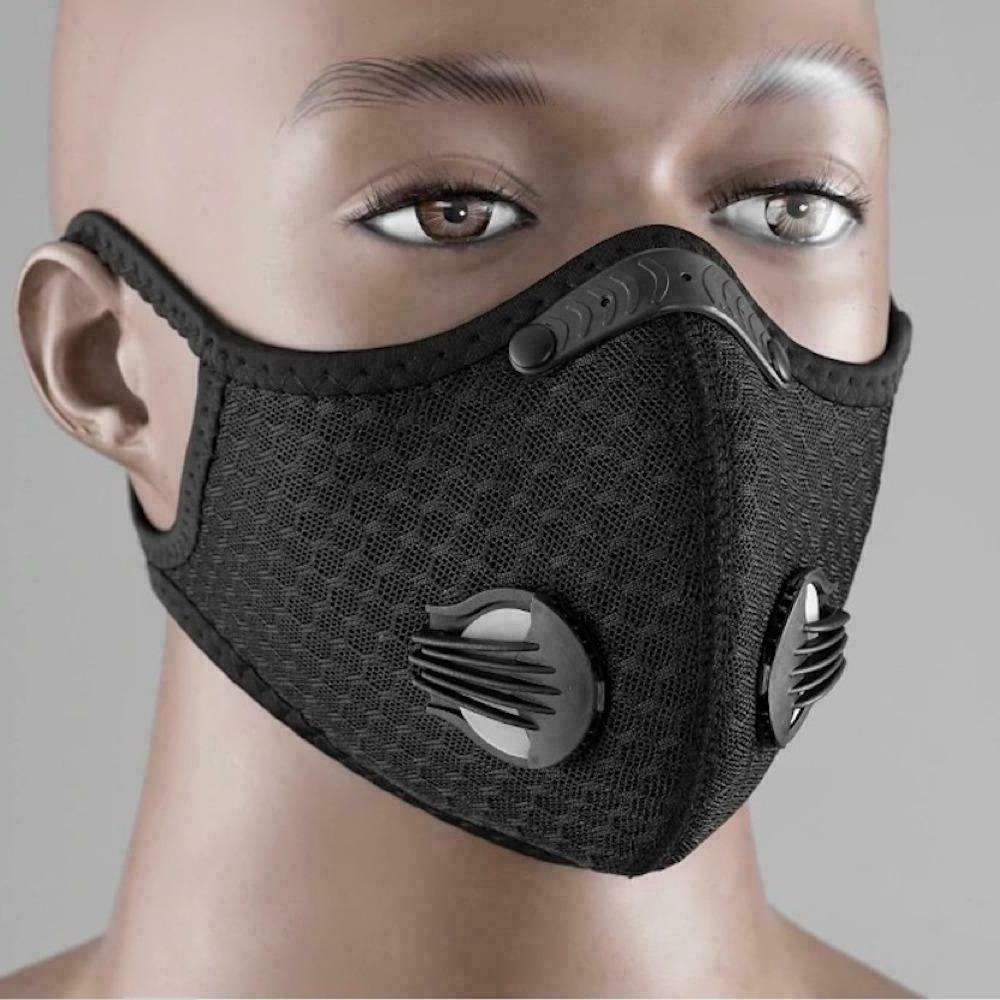 USA Activated Carbon Purifying Face Mask Cycling Reusable Filter