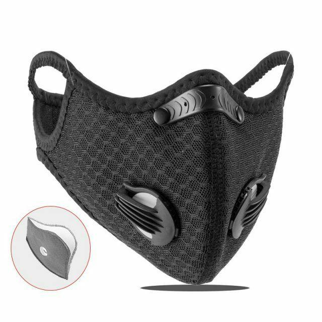 usa activated carbon face mask shield