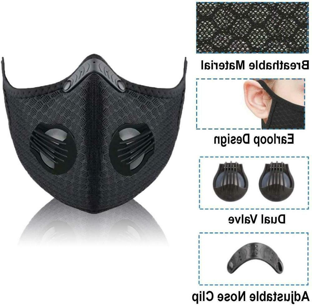 USA Seller Activated Carbon Filter for Air Purifying Cycling