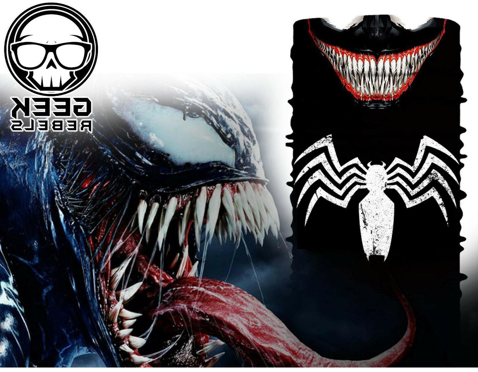 venom face mask bandana marvel outdoor sports