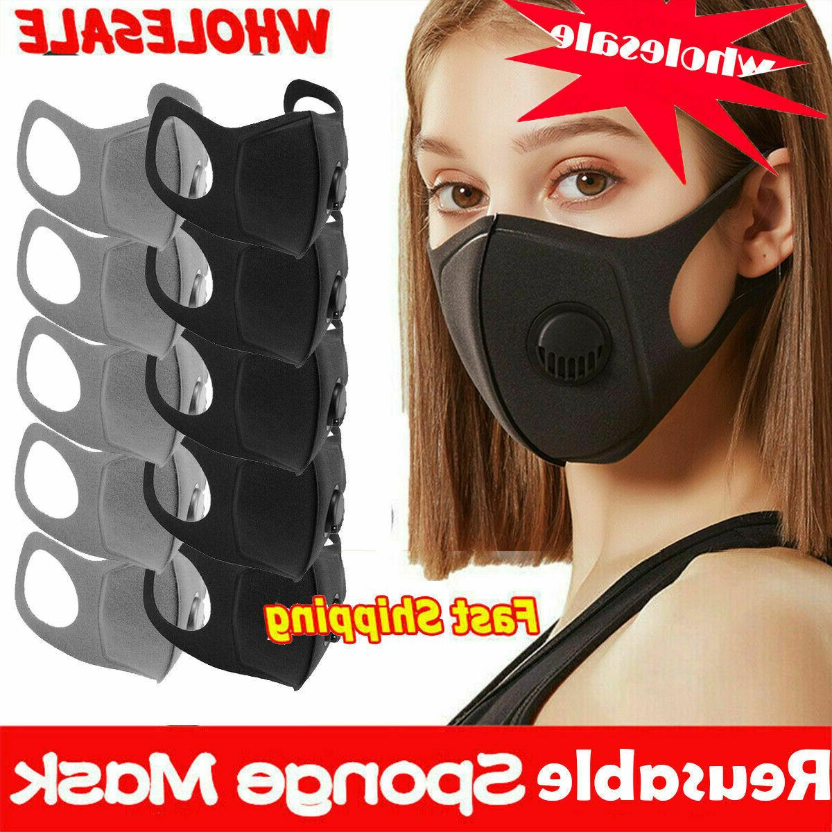 washable face mask sports activated carbon masks