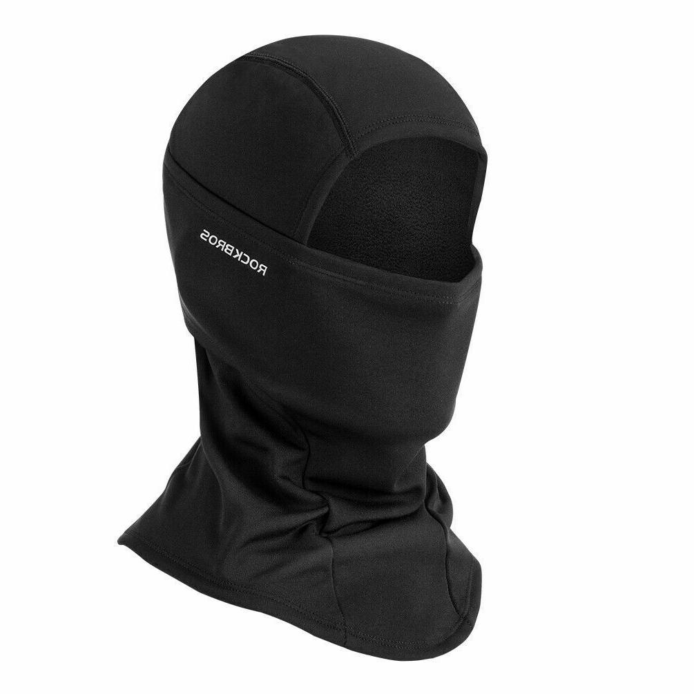 winter thermal face mask headgear outdoor sports