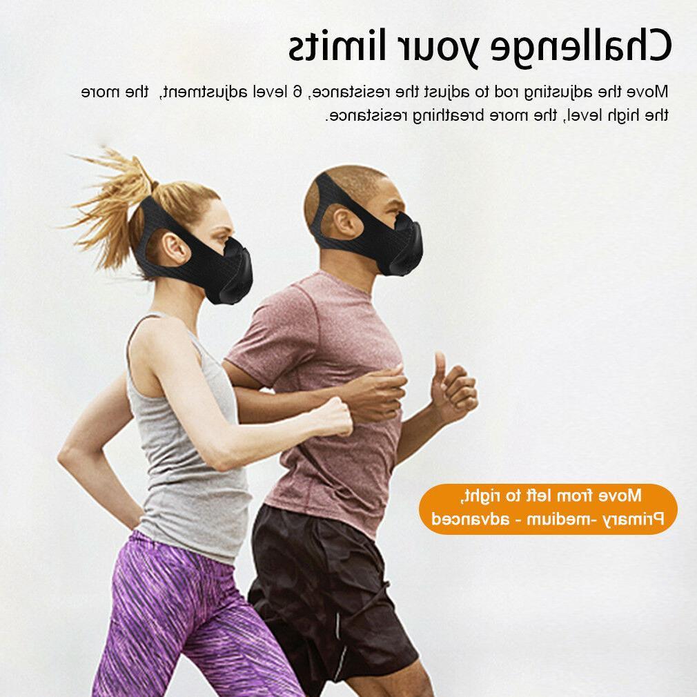 High Altitude Workout Mask Oxygen Sport