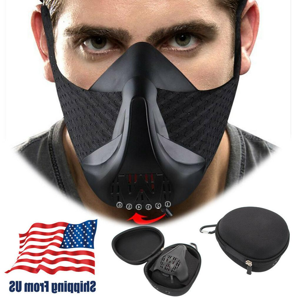 workout fitness mask for sports high altitude