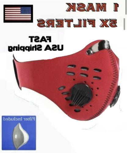 workout mask for running sport fitness pm2