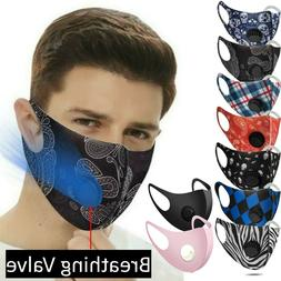 lightweight reusable cloth fabric face mask covering