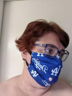 Los Angeles Dodgers Face Mask - All Sizes