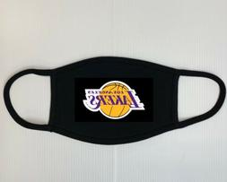 los angeles lakers, Lakers Mask, Face Mask, Black Mask, Spor