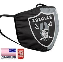 Los Angeles Raiders Face Mask Washable Cotton NFL Team Filte