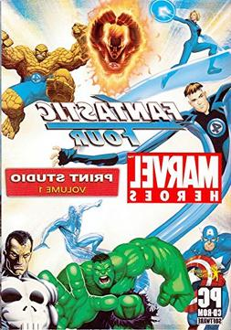 Fantastic Four Marvel Heroes Print Studio Volume 1 PC CDRom