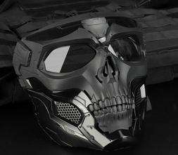 Masks Tactical Skull Hunting Motorcycle Men Full Face Airsof