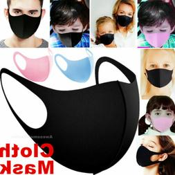 Men Women Kids Boys Girls Teen Child Unisex Face Mask Reusab