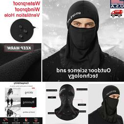 Mens Full Neck Face Mask Motorcycle Cycling Ski Balaclava Wi
